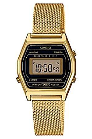 Casio Orologio Digitale Quarzo Donna con Cinturino in Acciaio Inox LA690WEMY-1EF