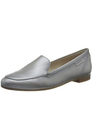 Bugatti 411912604100, Mocassino Donna, Metallic/Light Grey, 39 EU