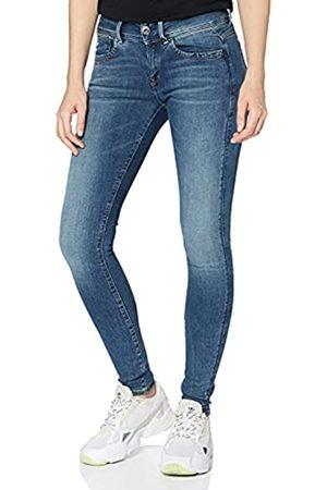 G-Star Lynn Mid Waist Super Skinny' Jeans, Blu , 30W / 32L Donna