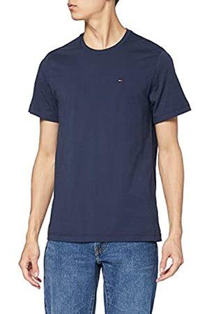 Tommy Hilfiger Tommy Jeans Original Jersey Maglietta, Blu , L Uomo