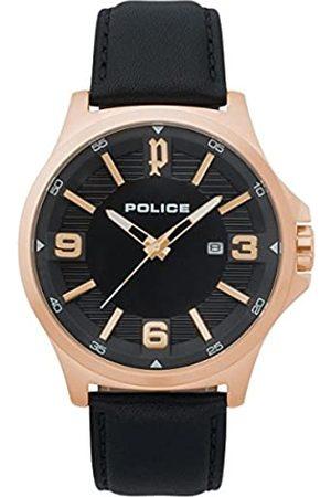 Police Orologio Cronografo Quarzo Uomo con Cinturino in Pelle PL.15384JSR/02