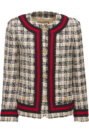 Gucci Donna Giacche - Giacca In Tweed Di Misto Lana