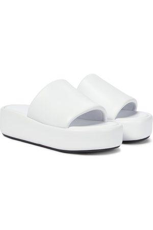 Balenciaga Sandali Rise in pelle con platform