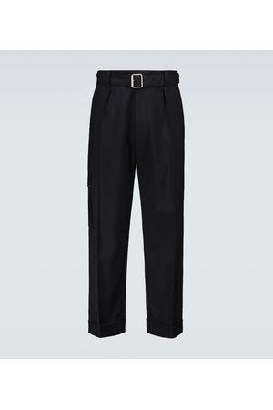 LOEWE Pantaloni in lana con cintura