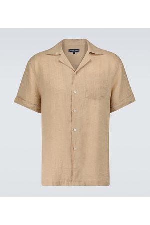 Frescobol Carioca Camicia Thomas in lino