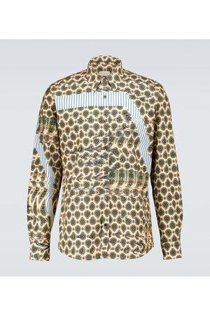 DRIES VAN NOTEN Camicia in cotone con stampa