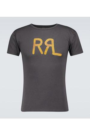 RRL T-shirt in cotone con logo
