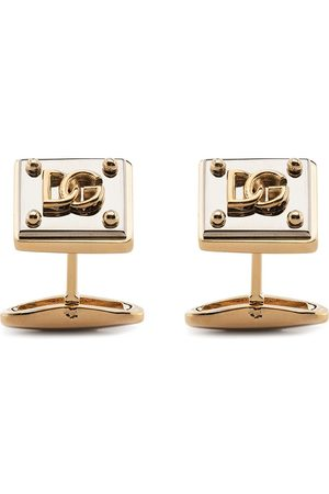 Dolce & Gabbana Uomo Gemelli - Gemelli con placca logo