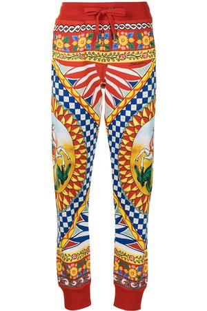 Dolce & Gabbana Donna Pantaloni sportivi - Pantaloni sportivi Carretto con stampa