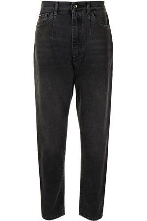 Dolce & Gabbana Uomo Affusolati - Jeans affusolati a vita alta