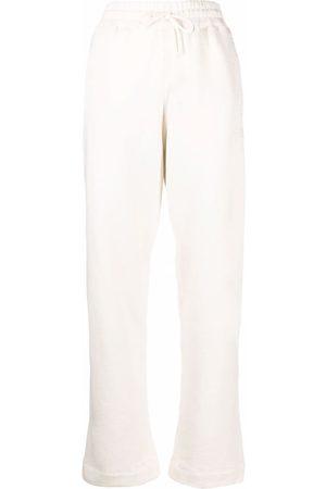 GANNI Pantaloni con ricamo - Toni neutri
