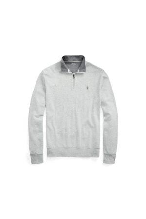 Polo Ralph Lauren Pullover in pregiato jersey cerniera