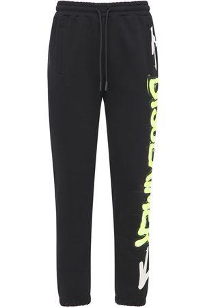 DISCLAIMER Pantaloni In Felpa Di Cotone Con Logo