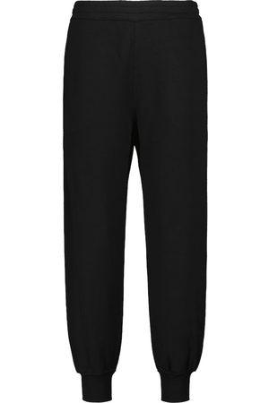 Alexander McQueen Pantaloni sportivi in cotone con logo