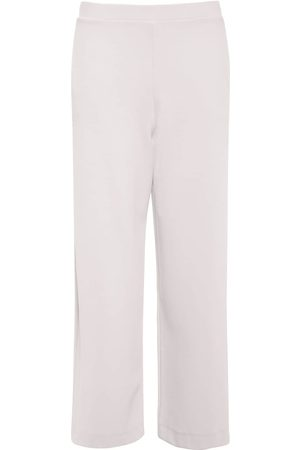 Max Mara Pantaloni Cropped In Jersey Stretch
