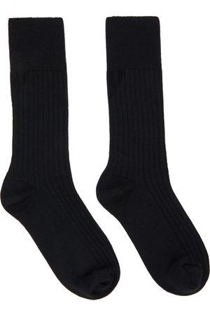 Bottega Veneta Uomo Calze - Black Cashmere Socks
