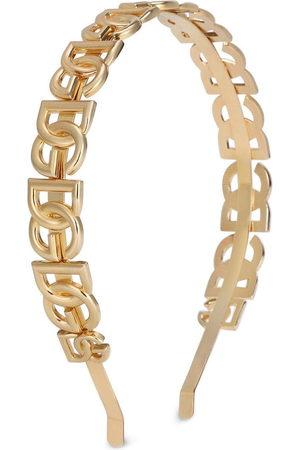 Dolce & Gabbana Donna Accessori per capelli - Cerchietto con logo
