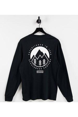 Columbia Uomo T-shirt a maniche lunghe - In esclusiva per ASOS - - Cades Cove - T-shirt a maniche lunghe nera
