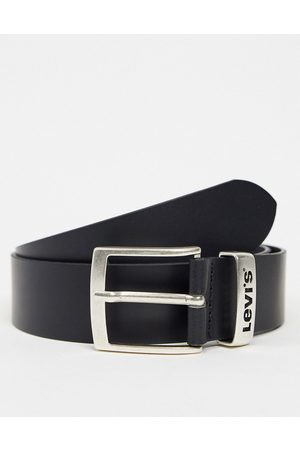 Levi's Levi's - New Ashland - Cintura in pelle nera