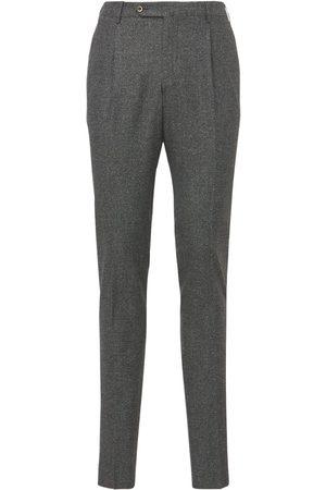 Pantaloni Torino Pantaloni Super Slim In Lana E Seta Stretch