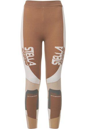 Stella McCartney Leggings In Maglia Con Logo