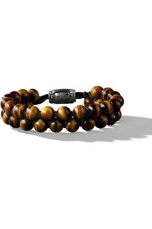 David Yurman Bracciale Spiritual Beads con occhio di tigre