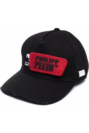 Philipp Plein Cappello da baseball con effetto vissuto