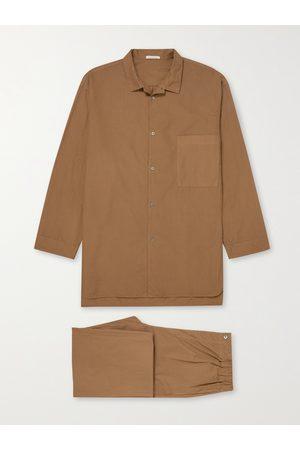 ÉCHAPPER Uomo Pigiami - Cotton-Poplin Pyjama Set