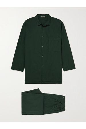 ÉCHAPPER Cotton-Poplin Pyjama Set