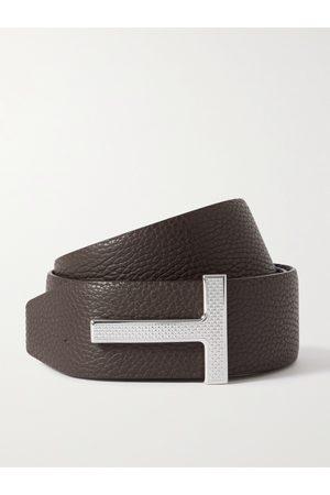 Tom Ford Uomo Cinture - 4cm Reversible Full-Grain Leather Belt