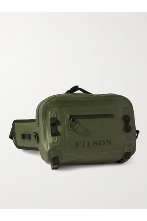 FILSON Logo-Print TPU-Coated 840D Nylon Belt Bag