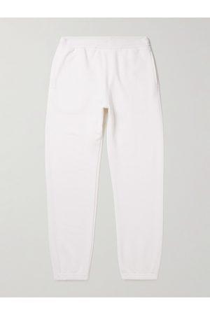 On Gossamer Textured Organic Cotton and Silk-Blend Jersey Sweatpants