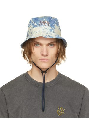 CARNE BOLLENTE Uomo Cappelli - Blue Night Of The Giving Head Bucket Hat