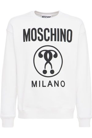 Moschino Felpa In Cotone Con Logo