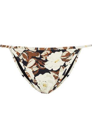 SIR Slip bikini Vivienne con stampa floreale