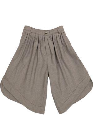 Chloé Pantaloni culottes a quadri