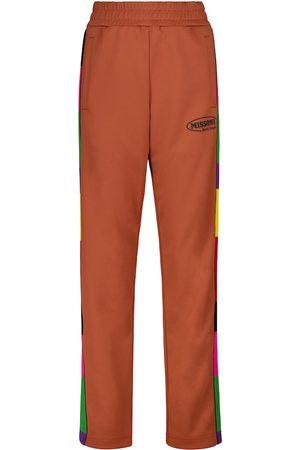 Palm Angels X Missoni - Pantaloni sportivi in jersey tecnico