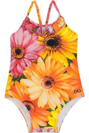 Dolce & Gabbana Baby - Costume intero con stampa floreale