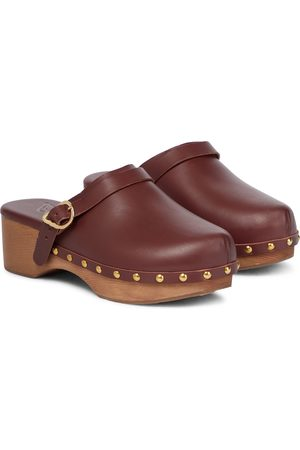 Ancient Greek Sandals Zoccoli Classic Closed in pelle