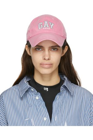 Balenciaga Donna Cappelli con visiera - Pink 'Gay Pride 2021' Cap
