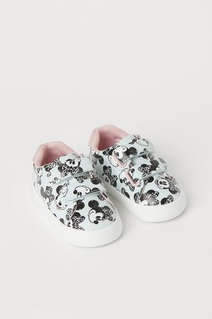 H&M Bambina Sneakers - Sneakers con stampa - Turchese