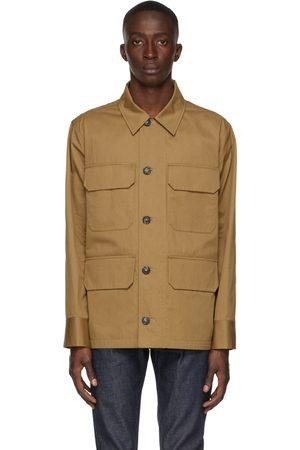 A.P.C. Uomo Giacche - Tan River Field Jacket