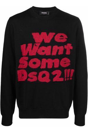 Dsquared2 Uomo Felpe - Maglione We Want Some Dsq2!!!