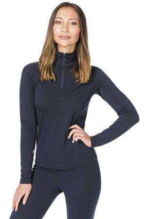 Supernatural Donna T-shirt sportive - W Base 1/4 Zip 230 - maglia a maniche lunghe con zip - donna