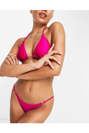 Accessorize Slip bikini con laccetti laterali, colore