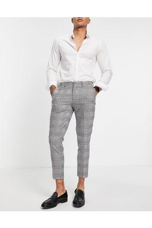 SELECTED Pantaloni da abito skinny, colore a quadri