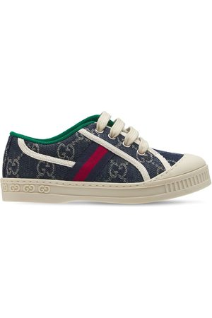 Gucci Gg Tennis 1977 Cotton Lace-up Sneakers
