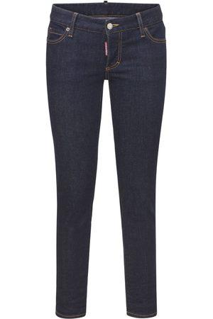 Dsquared2 Jeans Cropped Icon Jennifer In Di Cotone