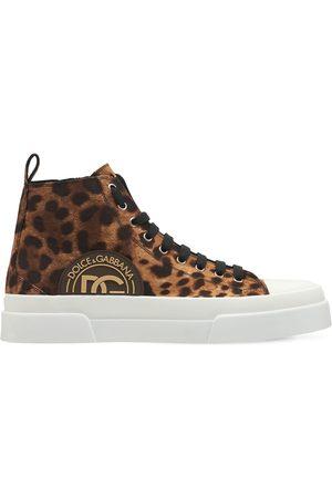 """Dolce & Gabbana Sneakers """"portofino"""" In Tela"""