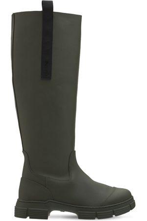 Ganni Stivali Da Pioggia 45mm